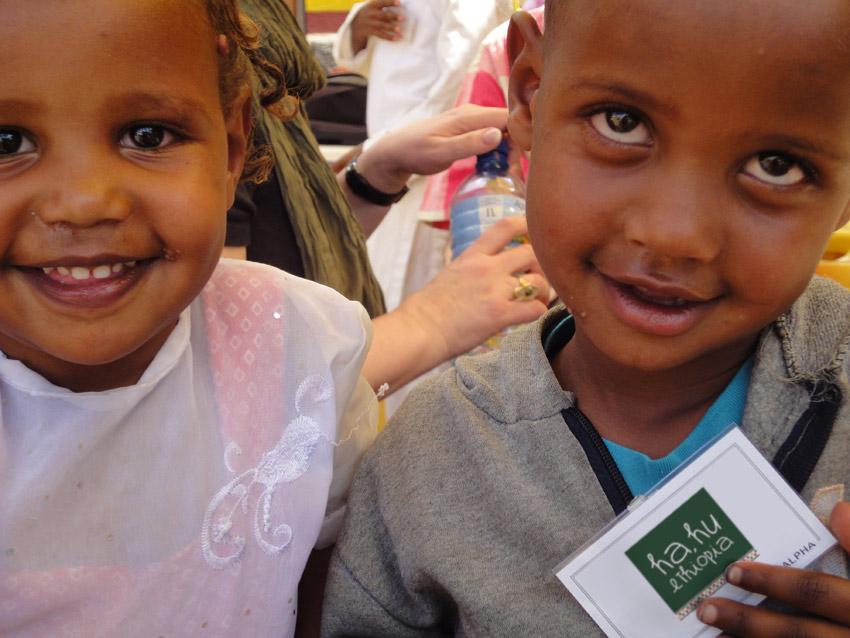 Patenkinder von Hahu Ethiopia