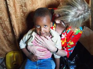 Patenkind des Hilfsprojektes Hahu-Ethiopia.